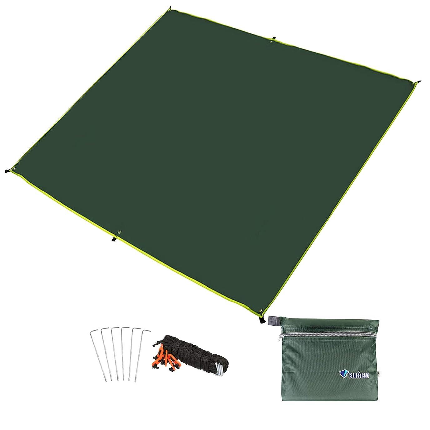 リード告白着飾るグランドマット テントシート レジャーシート 折り畳み 4~6人に適用 収納袋付き 軽量