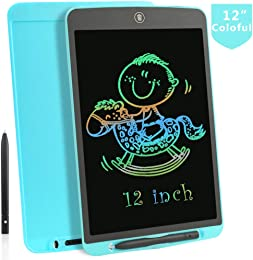 mookey kingwang Tablette d'écriture LCD Coloré 12