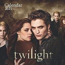 """Twilight: 2021 Wall Calendar - Large 8.5"""" x 17"""" When Open - 12 Months"""