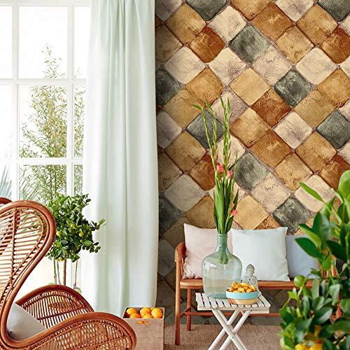 Diamond Tile Peeling en het aanbrengen van Wallpaper Decoratieve zelfklevende plank pad Keuken kast lade Werkbank Venster Muur Ambachten 6m × 0.45m 6m*0.45m