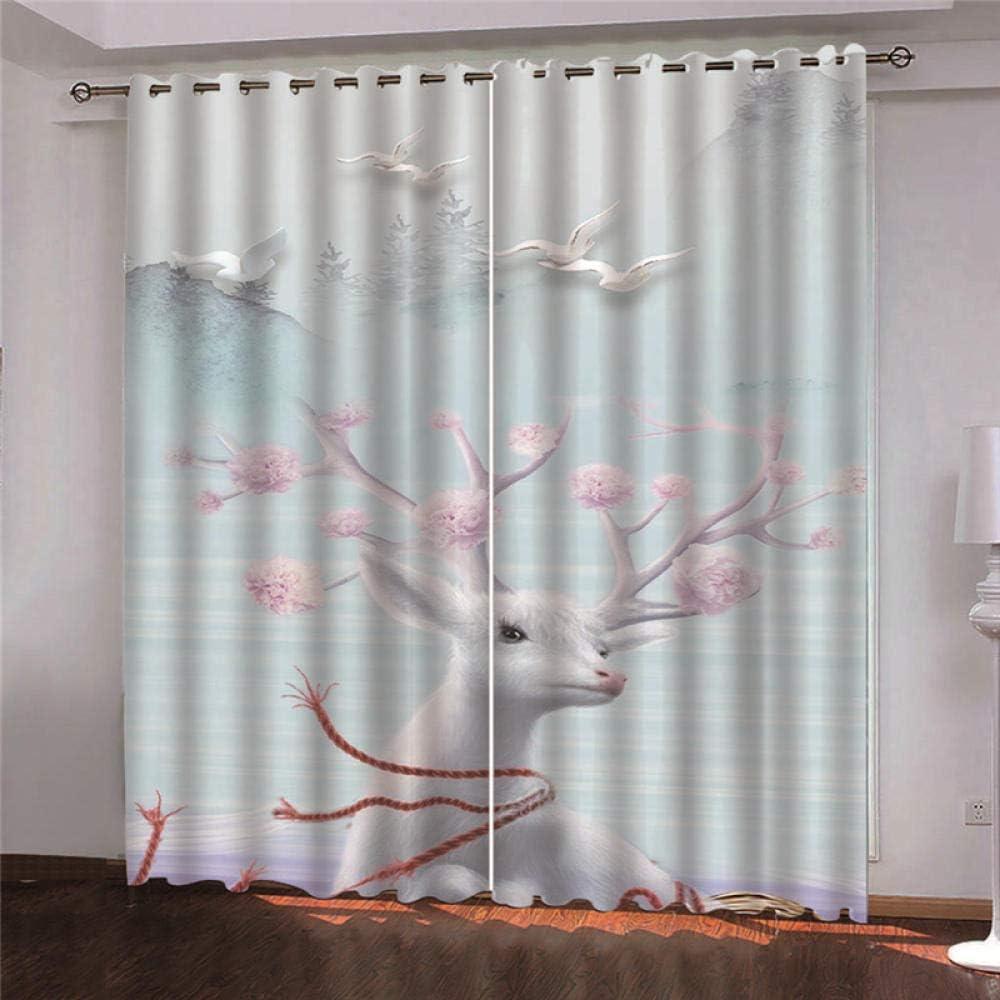 2 Panels Eyelet Curtain 52