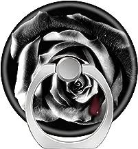 LoveStand-Cell Phone Ring Holder 360 Degree Finger Ring Stand for Smartphone Tablet and Car Mount-Black Rose Vampire