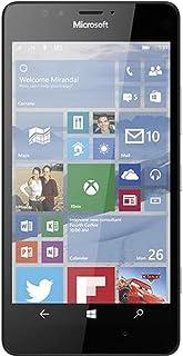 Microsoft Lumia 950 32GB RM-1105 (GSM Unlocked) 5.2in 20MP 3GB RAM 4G Smartphone - Black (Renewed)