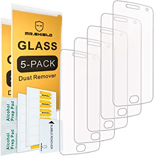 [5-PACK]- Mr.Shield For Motorola Moto G5 Plus/Moto G Plus (5th Generation) [Tempered Glass] Screen Protector [0.3mm Ultra ...