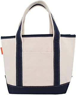 CB Station Handy Open Top Boat Tote Bag, Eco-Friendly, and Durable 18 oz Cotton Canvas