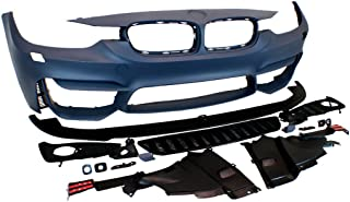 PROMOTORING For 12-15 BMW F30 3-Series M3 Fog Style Non-PDC Front Bumper Kit