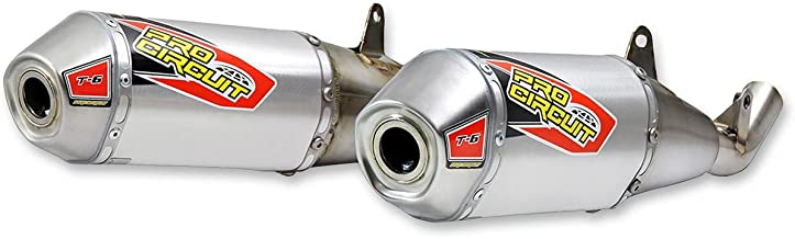 Pro Circuit 0111745A2 T-6 Stainless Steel Dual Slip-On