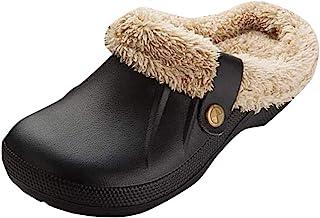 Pantofole da Casa Inverno Morbido Antiscivolo Scarpe Caldo Peluche Pantofole Cotone Scarpe Pattini per Donna Uomo