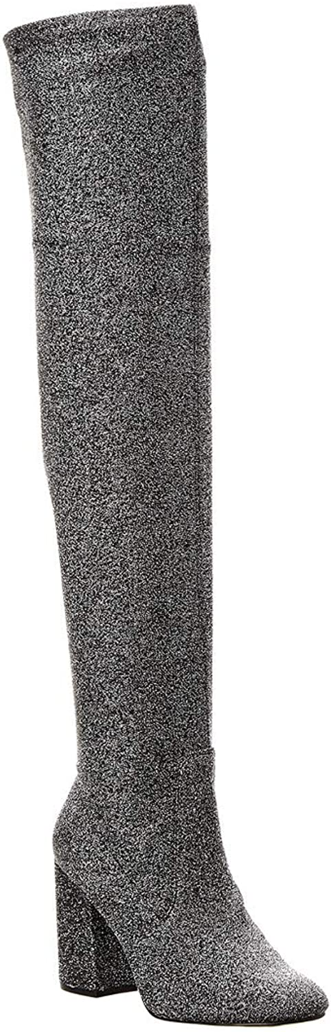 Kenneth Cole New York Womens Carah Closed Toe Knee High Fashion Boots