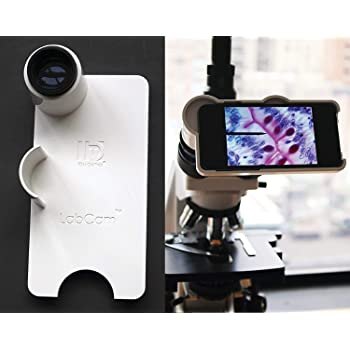 Case only, Without Lens LaBOT Microscope iPhone Camera Adapter iPhone 6 Plus//6s Plus, Orange