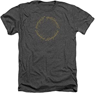 Lord Of The Rings- One Ring Inscription T-Shirt Size L