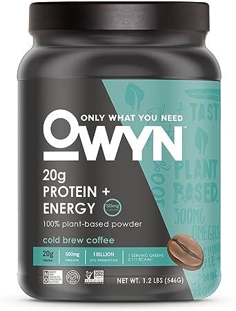 Owyn Cold Brew Coffee Protein & Energy Powder, 1.14 LB