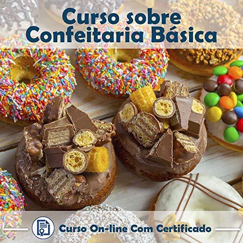 Curso online em videoaula sobre Confeitaria Básica com Certificado + 2 brindes