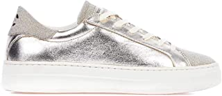 Crime London Luxury Fashion Womens 255140126 Silver Sneakers |