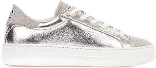 Crime London Luxury Fashion Womens 255140126 Silver Sneakers |