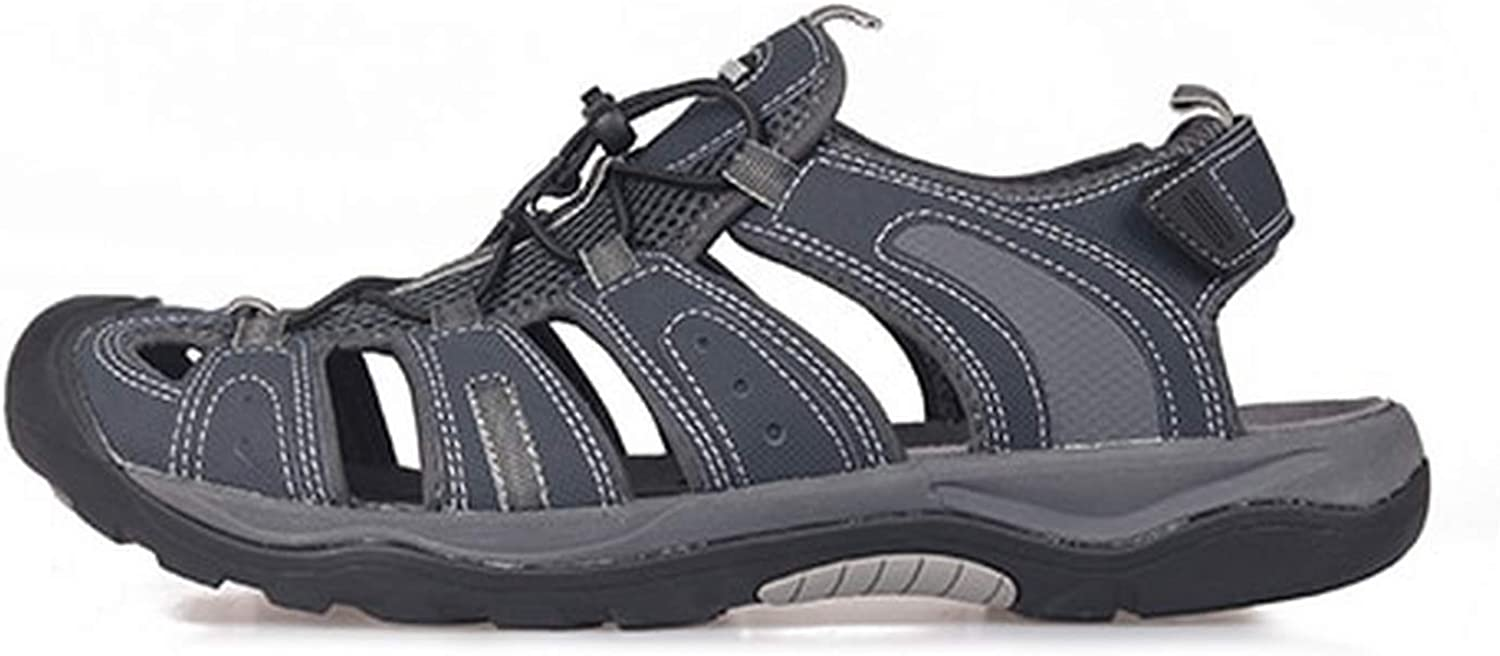 Niuniua Men Summer Outdoor Comfortable Hiking shoes Beach Casual Flat Sport,Navy bluee,40,United States