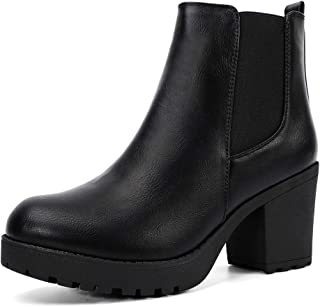 Women's Ankle Boots Slip On Platform Boots