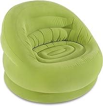 Intex 68577NP Bella Chair, Olive Green Sunny Orange