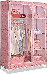BLWX - Cloth Wardrobe Simple Combination Wardrobe Storage Clothes Locker Double Queen Dormitory Combination Wardrobe