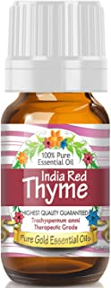 Pure Gold Red Thyme Essential Oil, 100% Natural & Undiluted, 10ml