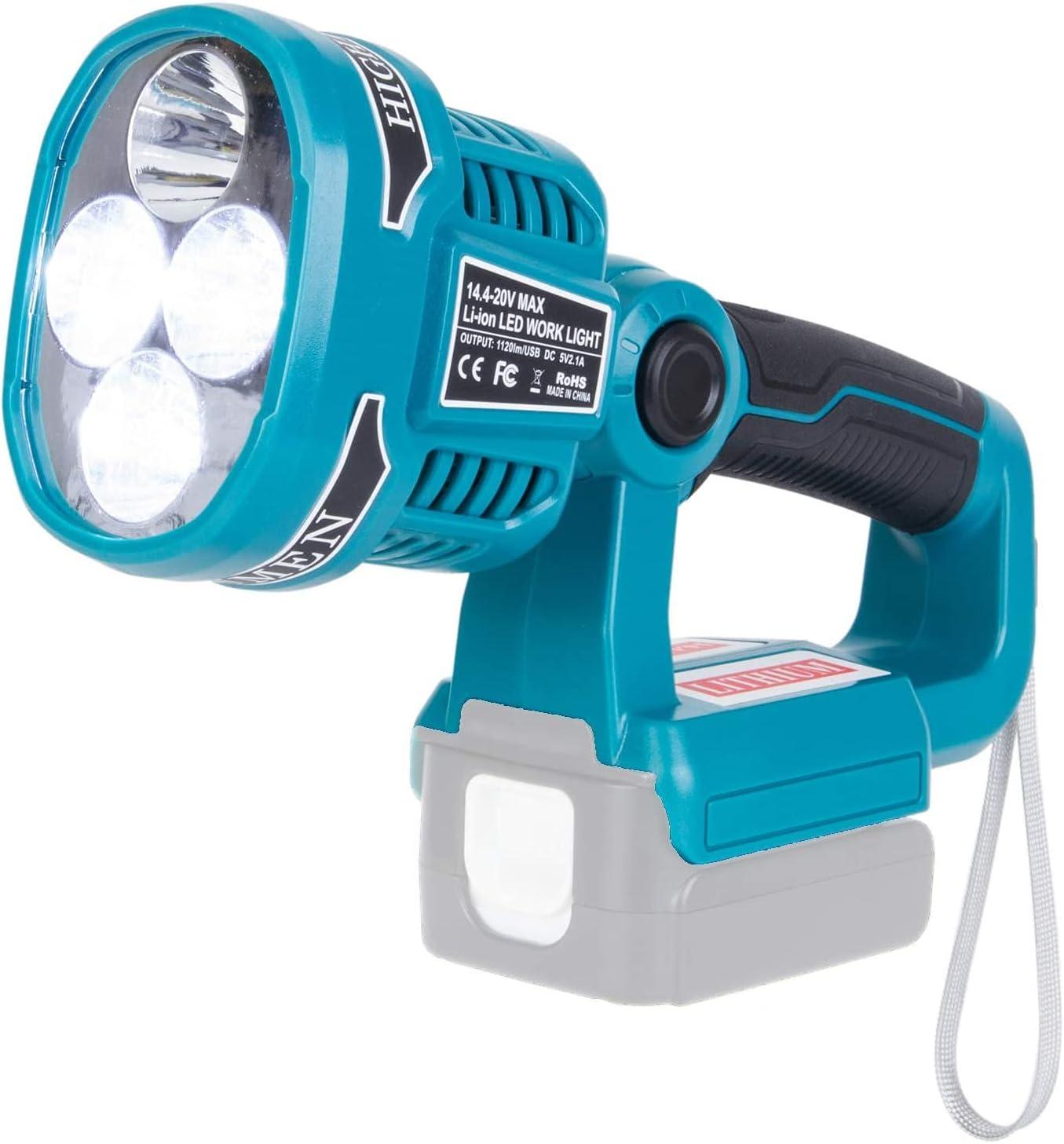 For Makita LED light BL1860 Light S outdoor Flashlight Work Cheap Max 52% OFF sale