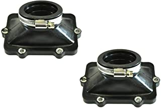 RPM Two (2) Ski Doo 800HO SPI Carburetor Flange Carb Boot Replaces OEM # 420667109