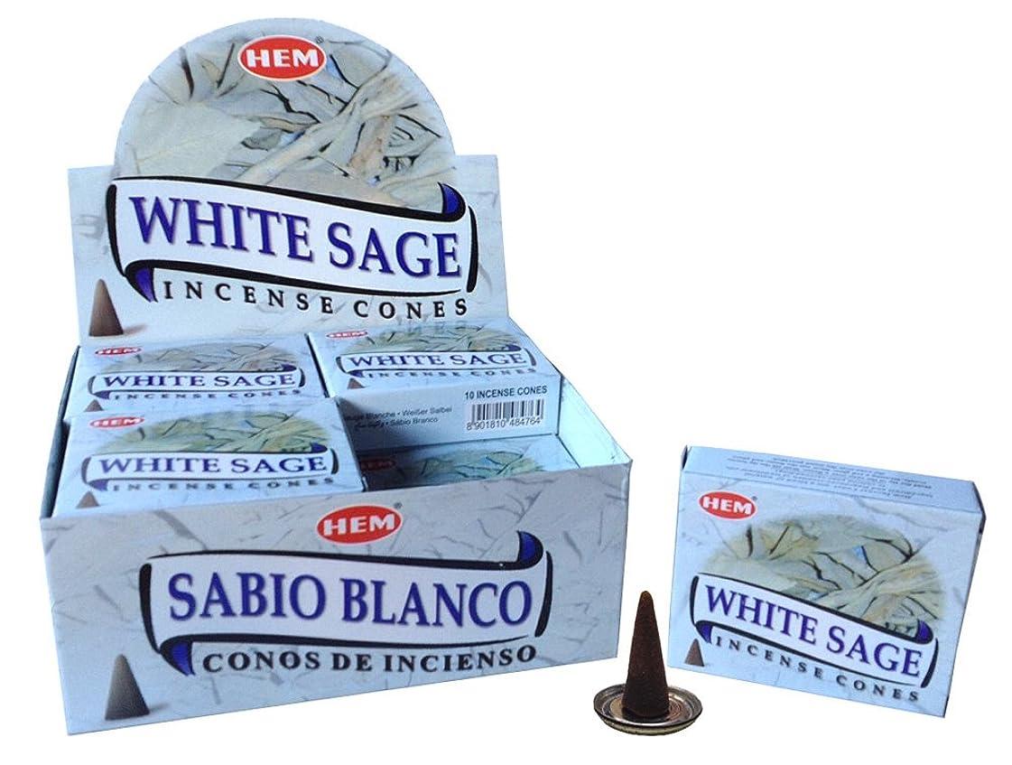 世界記録のギネスブックワゴン広告HEM ホワイトセージ コーン 24個セット