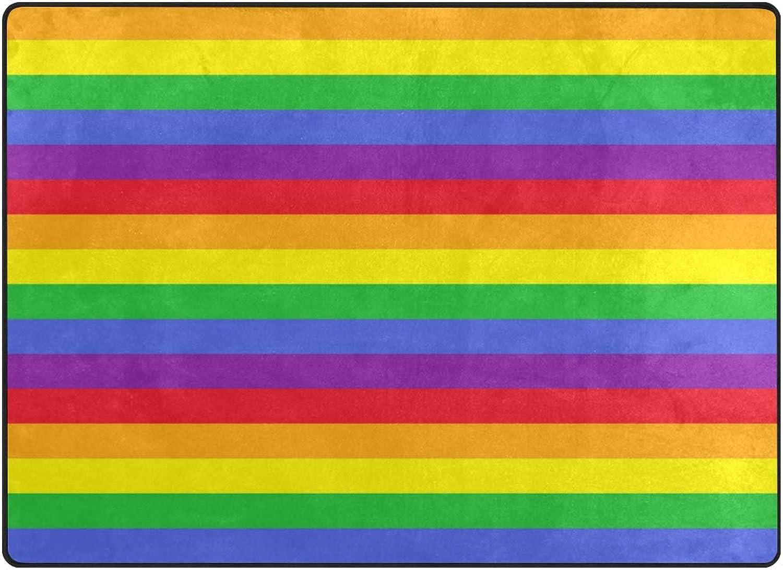 FAJRO Pattern Rainbow Rugs for entryway Doormat Area Rug Multipattern Door Mat shoes Scraper Home Dec Anti-Slip Indoor Outdoor