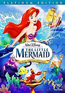 The Little Mermaid DVD Movie Platinum Edition (2-Disc Set)