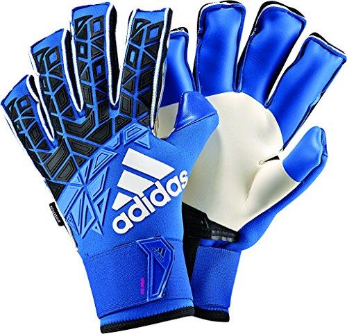 adidas Erwachsene ACE Trans FS Pro Torwarthandschuhe, Blue/Core Black/White/Shock pink s16, 11.5
