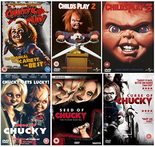 Photo of The Complete Chucky 1-6 Movie Collection: Child's Play / Child's Play 2 / Child's Play 3 / Seed of Chucky / Bride of Chucky / Curse of Chucky