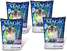 FreshMAGIC Large Chunk Style Crystal Cat Litter, 8 lb. Bag, White