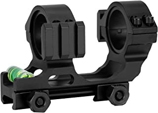 Skyvady 1-Inch / 30mm Compact Dual Ring Picatinny Rail Mounts with Bubble Level
