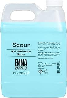 EMMA V.S.N.P. Scour Nail Antiseptic Spray & Nail Cleanser, 32 Ounces