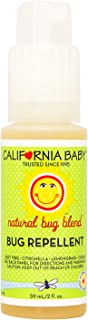 California Baby Plant-based Natural Bug Repellant Spray (2 fl. oz.) Skin Safe, plant-based Formula for Babies, Toddlers, Kids | Outdoor Protection from Mosquitoes, Biting Flies, Fleas and Ticks.
