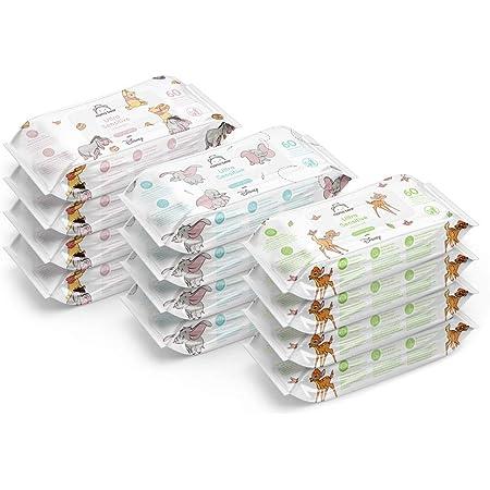 Mama Bear - Disney - Toallitas biodegradables ultrasensibles (12x60   720 Toallitas)