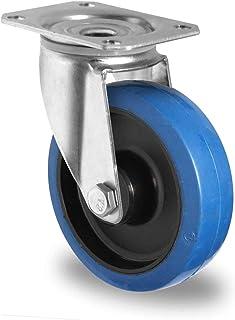 HRB Blue Wheel zwenkwiel 80 mm, draagvermogen 100 kg (80 mm zwenkwiel)