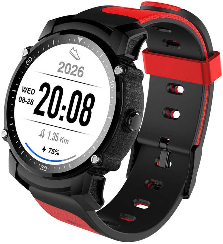 Dingmart Smart Watch GPS-Anschlüsse Fitness Tracker IP68 Wasserdichte Stoppuhr Pulsuhr Smartwatch für Android IOS