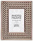 Innova pm07931Cornice portafoto Metallo 10x 15cm ampiezza Pyramid Colore Oro Metallo Rosa 25x 20x 2cm