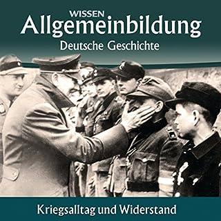 『Kriegsalltag und Widerstand』のカバーアート