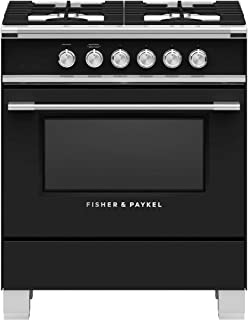 Fisher Paykel OR30SCG6B1 Classic Series 30 Inch Freestanding Dual Fuel Range