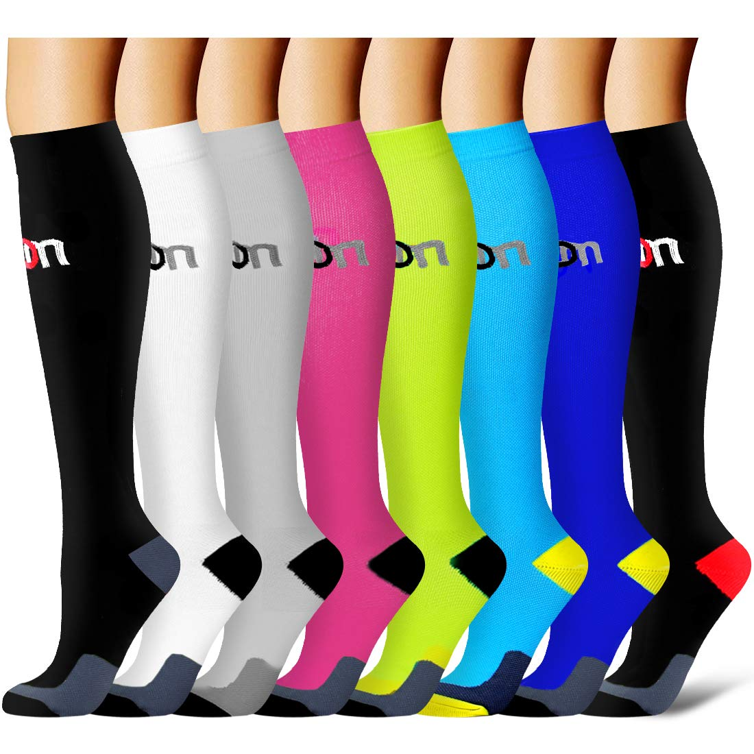 Pairs Compression Socks Women Men