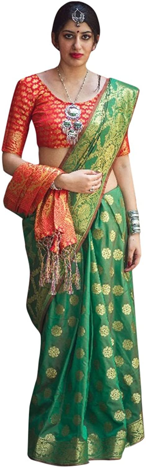 Bollywood wedding,Party wear Collection Of Saree Sari Blouse Designer Women Indian Ethnic wear 2554