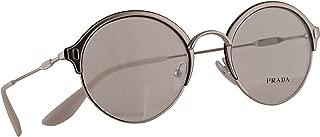 Prada VPR 54VV Eyeglasses 49-21-140 Silver w/Demo Clear Lens 2741O1 PR 54VV PR54VV VPR54V