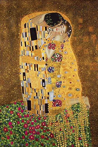 1art1 Gustav Klimt - Der Kuß II XXL Poster 120 x 80 cm