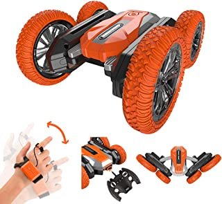 yeesport LED RC Car Set Gravity Induction Stunt Car Toy Stunt Vehicle Toy 2.4 GHz Vehicle for Kids Stunt Car Toys Rc Stunt...