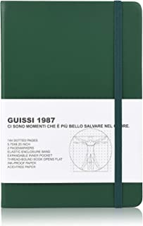 Guissi Classic Dotted Grid Bullet Notebook Journal Dot Hard Cover A5 Premium 80gsm Thick Acid-Free Paper with Fine Inner P...