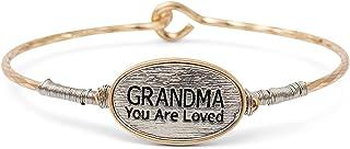 إلان تصميم الجدة أنت محبوب الذهب والفضة لهجة حجم واحد يناسب معظم المعادن الإسورة مشبك سوار