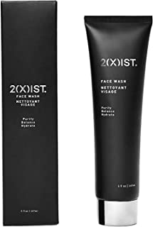 2XIST Face Wash Mens Face Wash Caffeine Cleanser Charcoal Face Wash Facial Scrub Anti Aging Daily Skin Care For Men Helps ...