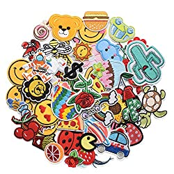 NEW DIY Clothing Patches Lips and Red Tongue Clothes SELL Patches Embroider J8R2